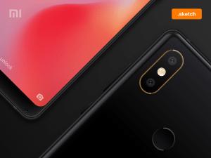 Free Xiaomi Mi Mix 2S Mockup