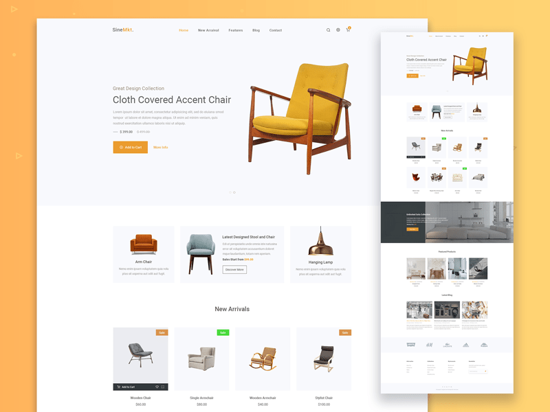 Furn – Free Furniture HTML Ecommerce Template
