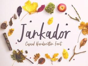 Jankador Free Handwriting Typeface