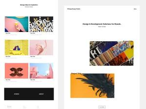 K!sbag - Free Minimal Portfolio Website Template