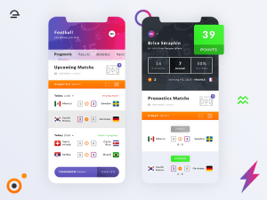 Free Football World Cup 2018 App UI