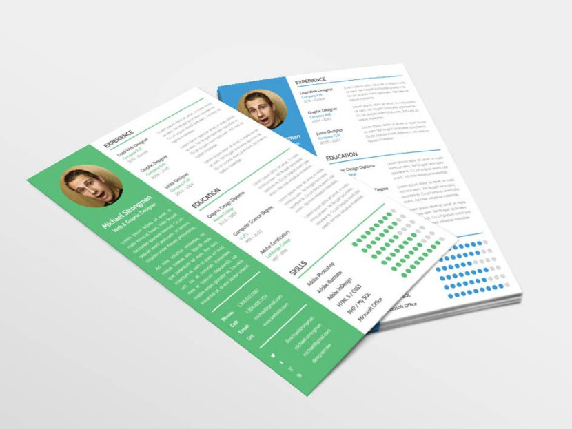 Free Clean Resume Template for Good First Impression
