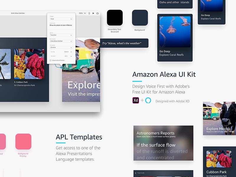 Amazon Alexa UI Kit