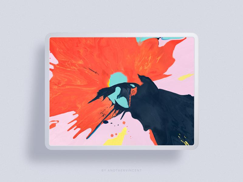 Free iPad Pro 2018 Sketch Mockup