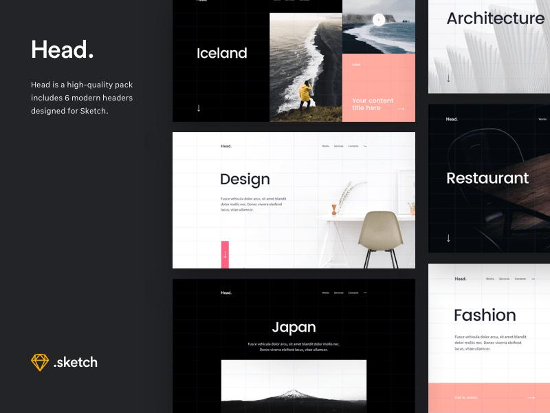 Header Website Starter Kit Template