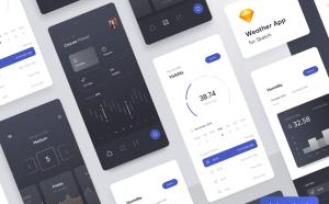 Multifunctional Weather App UI Design