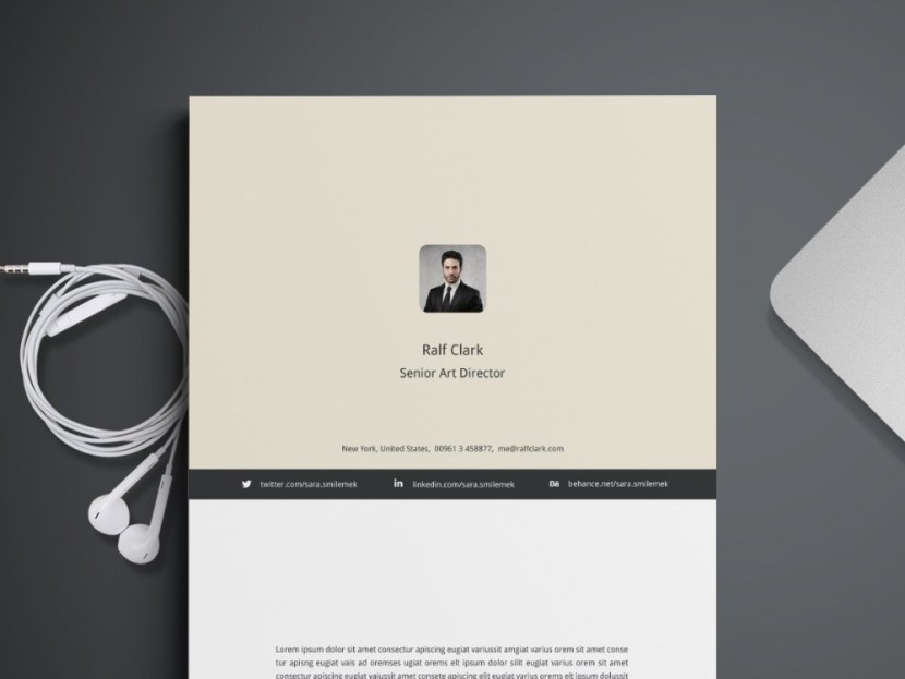 Free Four Pages Resume Template