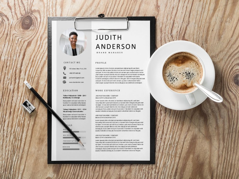 Free Brand Manager Resume Template