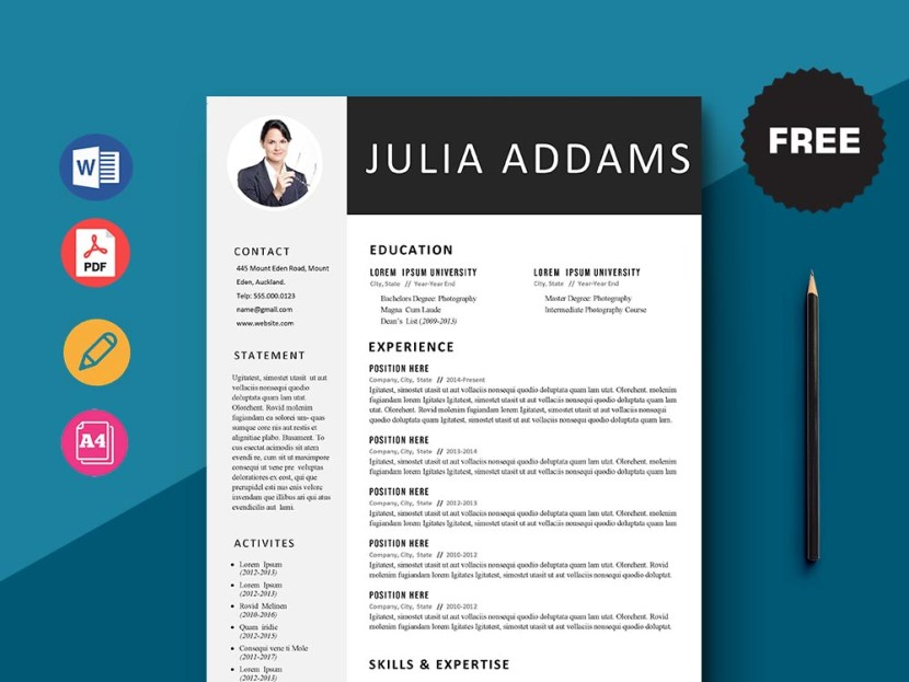 Free Financial Customer Service Representative Resume Template