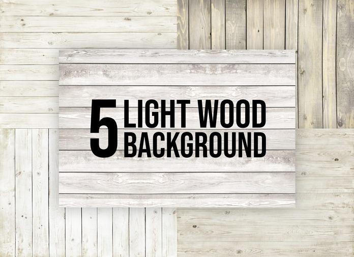 5 Free Light Wood Background
