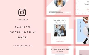 Free Fashion Instagram Post Template