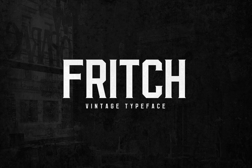 Fritch – Free Elegant Vintage Typeface