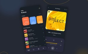 Free Podcast App UI Template