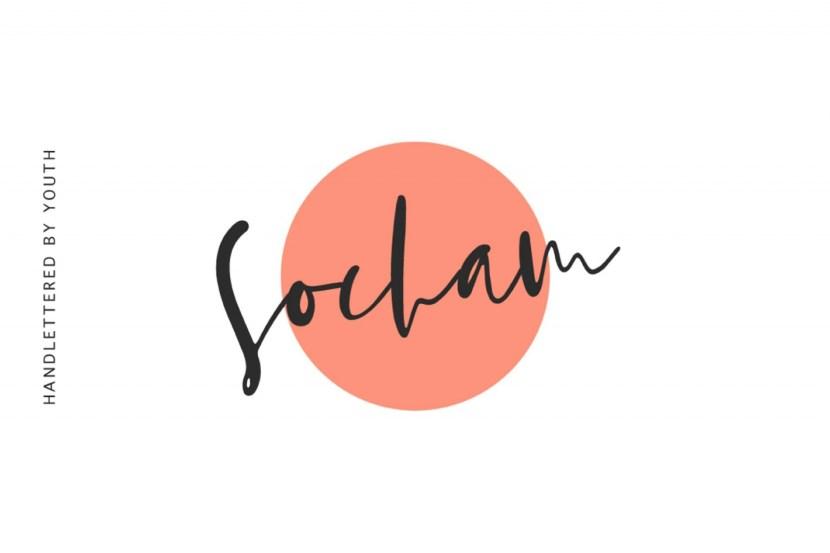 Socham Free Calligraphy Script Font