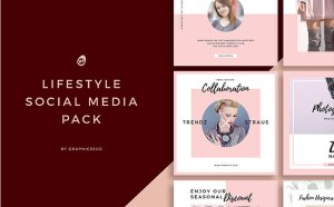 Free Lifestyle Instagram Post Template