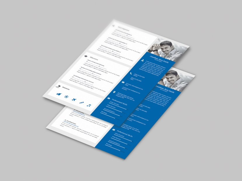 Free Modern and Clean Resume Template