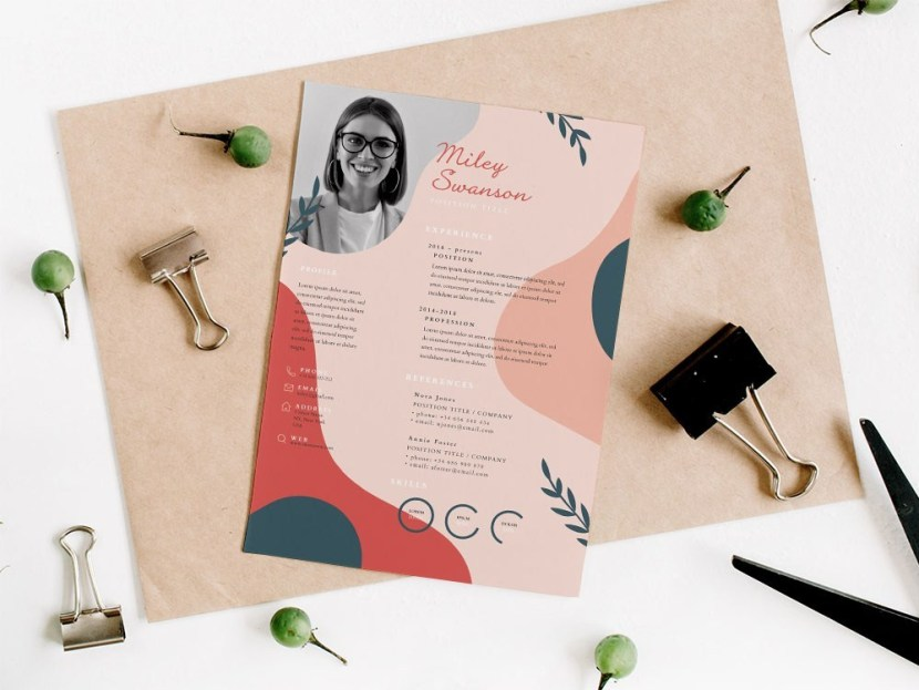 Free Floral Designer Resume Template