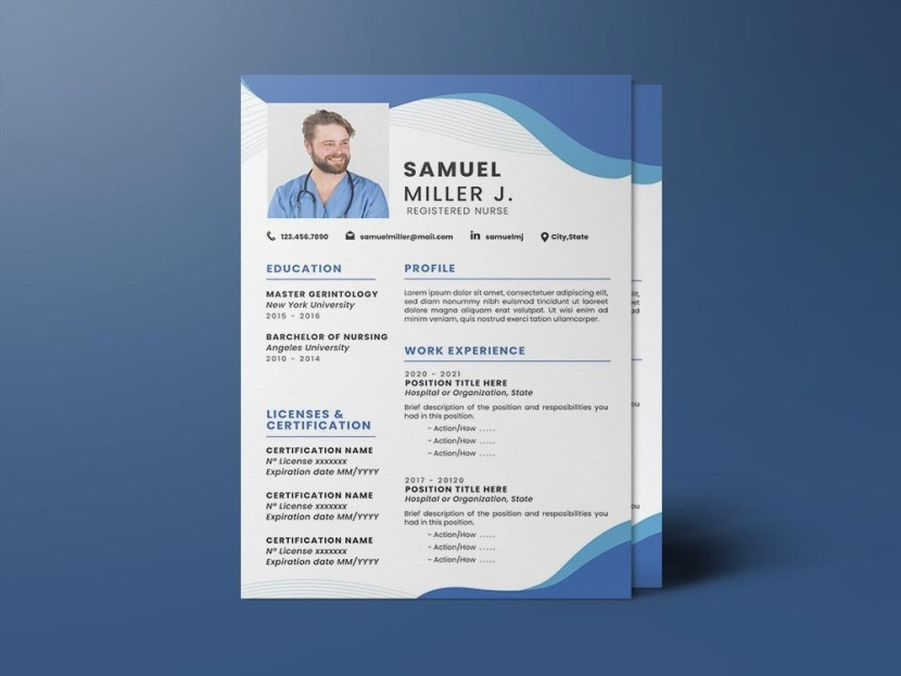 Free Registered Nurse Resume Template
