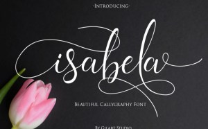 Isabela – Free Modern Calligraphy Font
