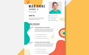 Free Child Nurse Resume Template