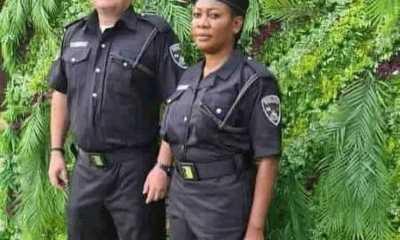 white man nigeria police