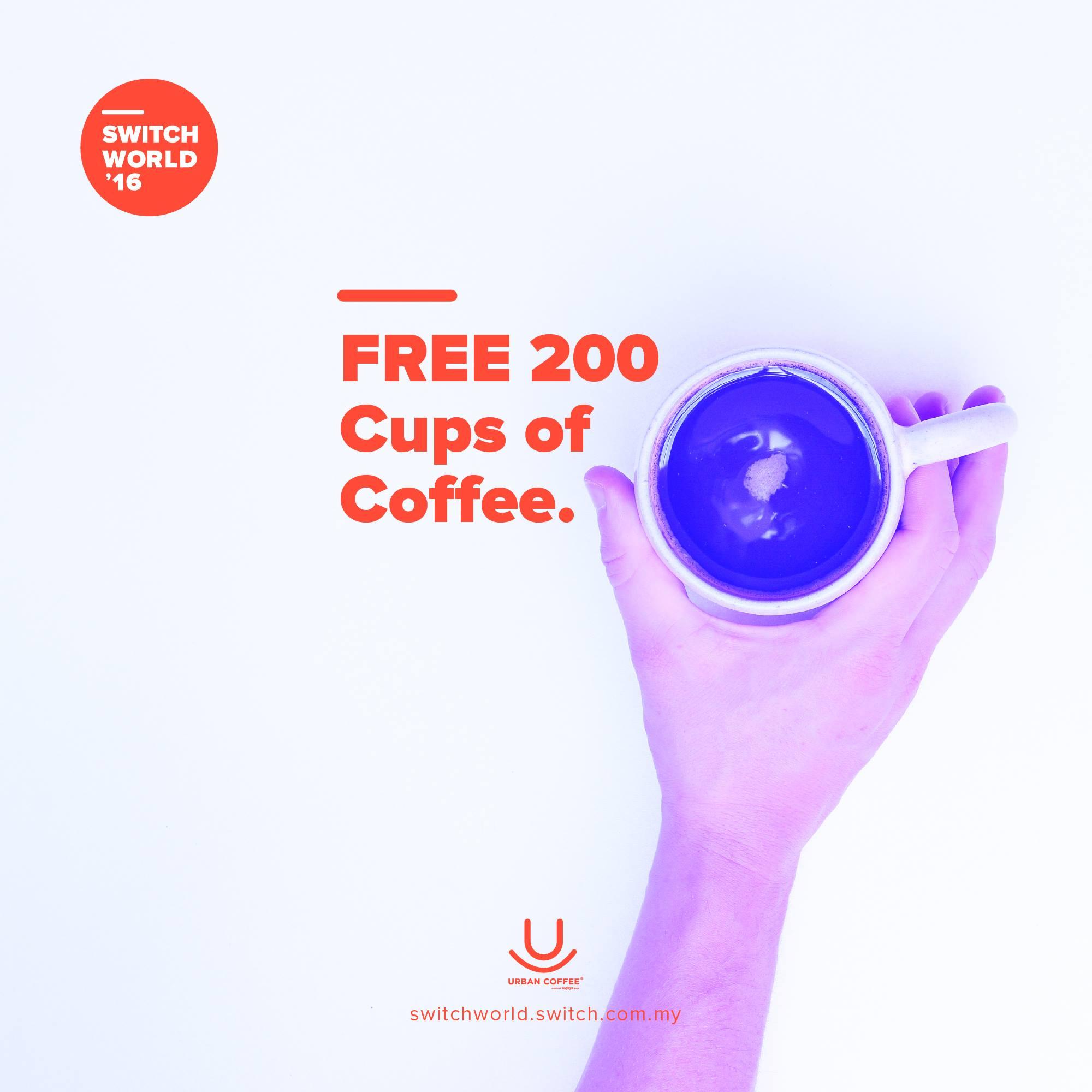 FREECOFFEEGiveaway SwitchWorld