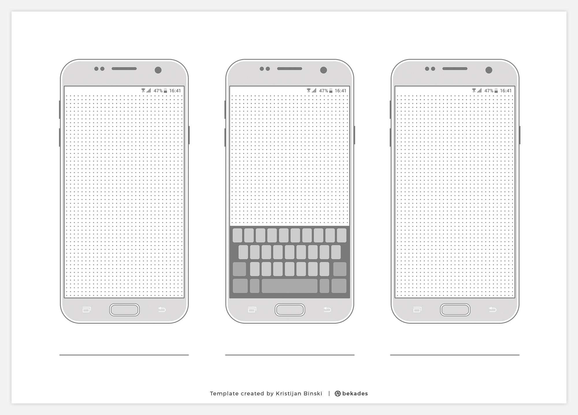 Free Wireframe Templates Collection For Psd Amp