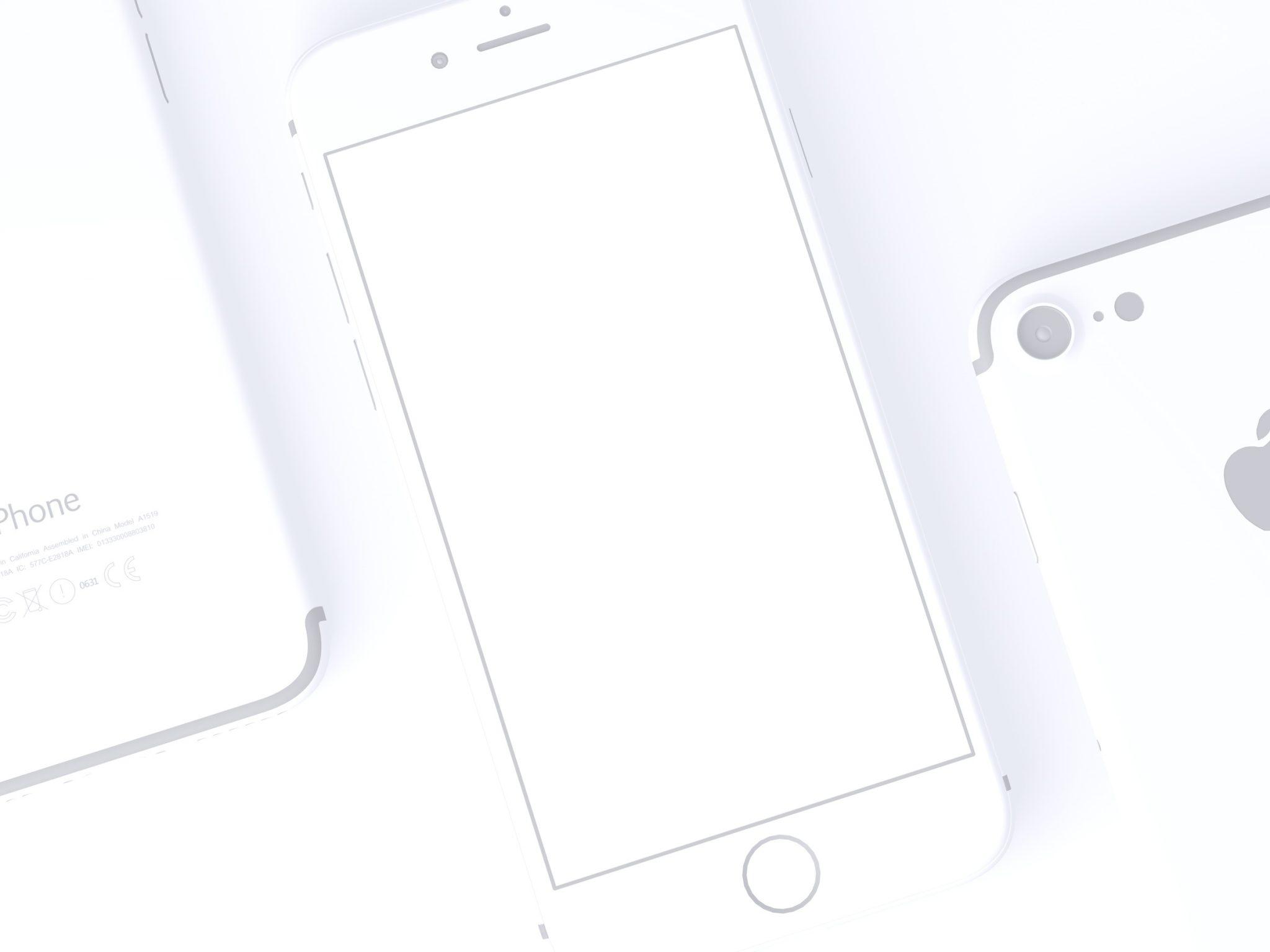 3 Clay Iphone 7 Mockups