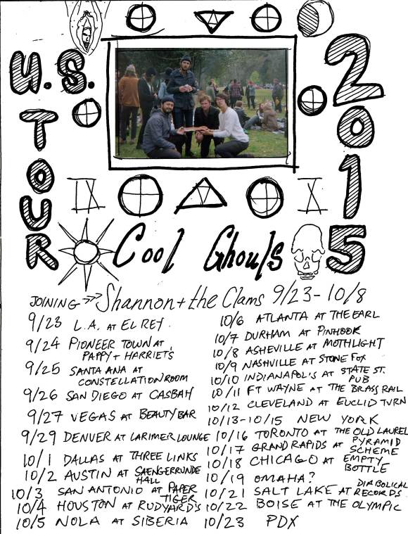 ghouls-clams-tour-poster