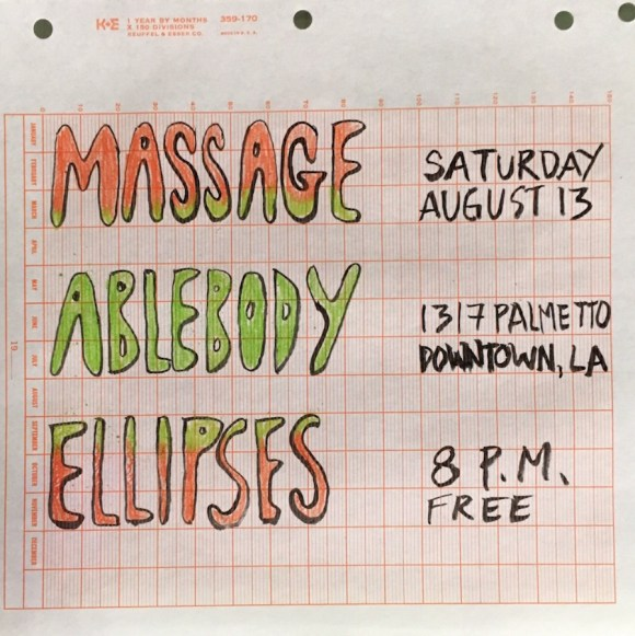 Massage-Flyer