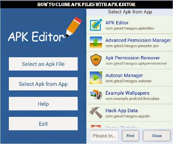 Download Apk Editor And Clone Any Android Apps