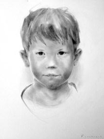 Pencil Sketch_02 - Pencil & Oil Pitt Base Pencils