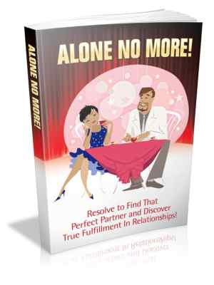 Alone No More ebook Free BSG