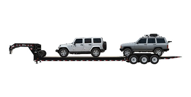 PJ Trailers 8″ Channel Tilt (T7)
