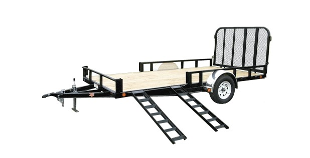 PJ Trailers 83″ Channel Utility (U8)