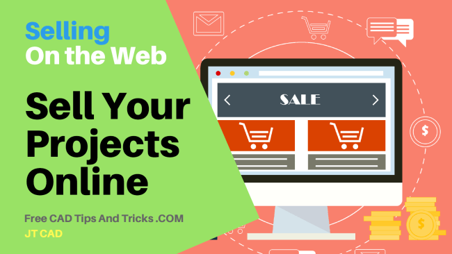 8 Make Your Finalized Projects Available form Sale on the Web