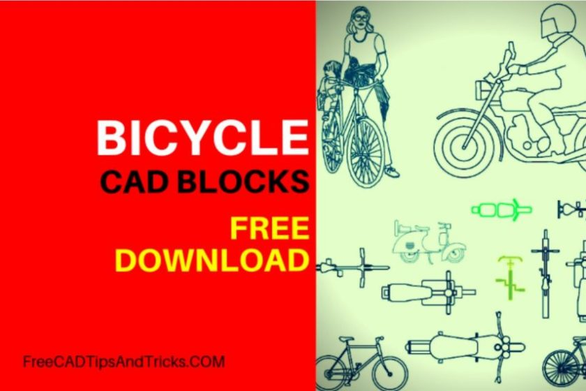 Cad Blocks Free Download Bicycles Bikes Free Cad Tips And Tricks