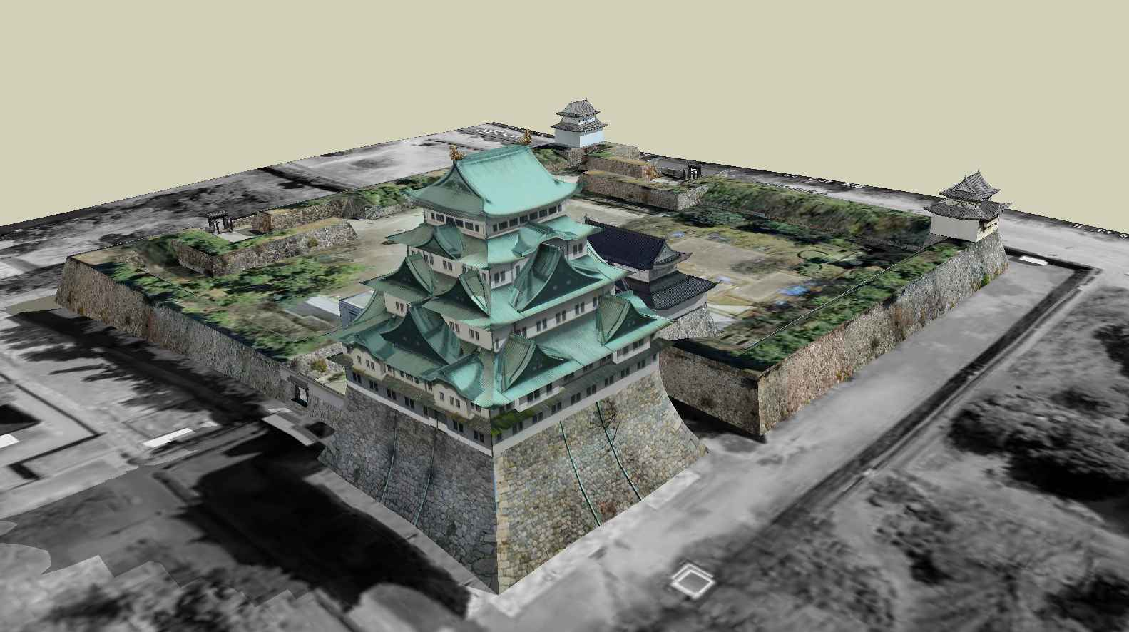 "Nagoya Castle is a castle located in Nagoya, Aichi Prefecture, Japan. The Edo period was the main residence of the Owari clan, and was nicknamed ""Golden City"" and ""Golden City"". One of the top 100 cities in Japan. Formerly known as the ancient city of Oda's residence."