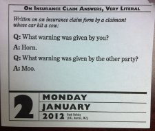 Funny Auto Insurance Joke