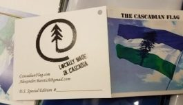 Please support our Cascadian Flag Making Cooperative