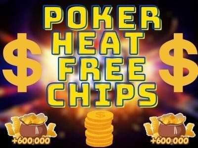 poker heat free chips