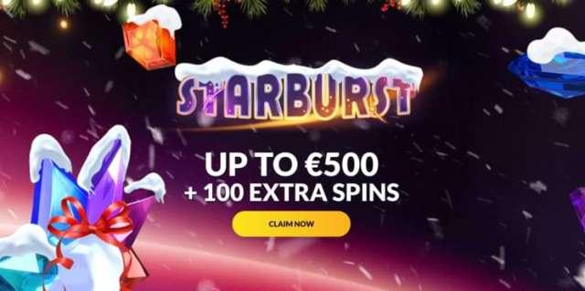 Starburst €500 Bonus