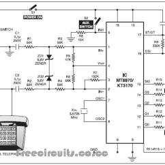 Dtmf Decoder Ic Mt8870 Pin Diagram Perko Single Battery Switch Wiring Telephone Dial Tone Circuit Nonstopfree Receiver Tester Browse Data Freecircuits