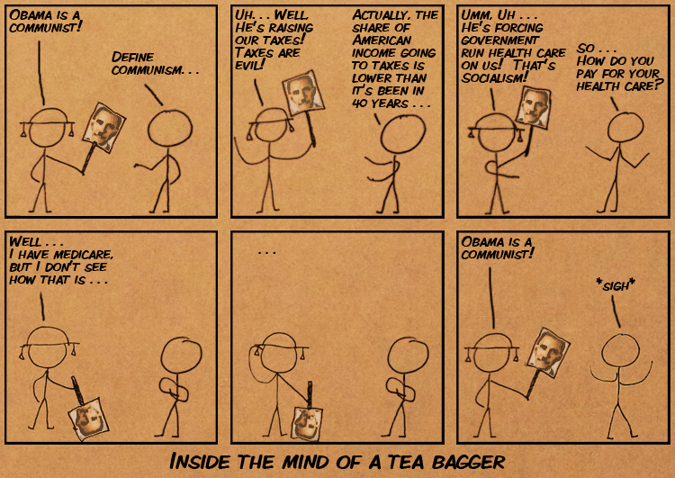 Inside the Mind of a Tea Bagger