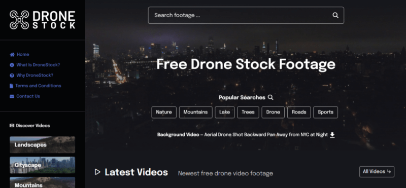 drone stock footage