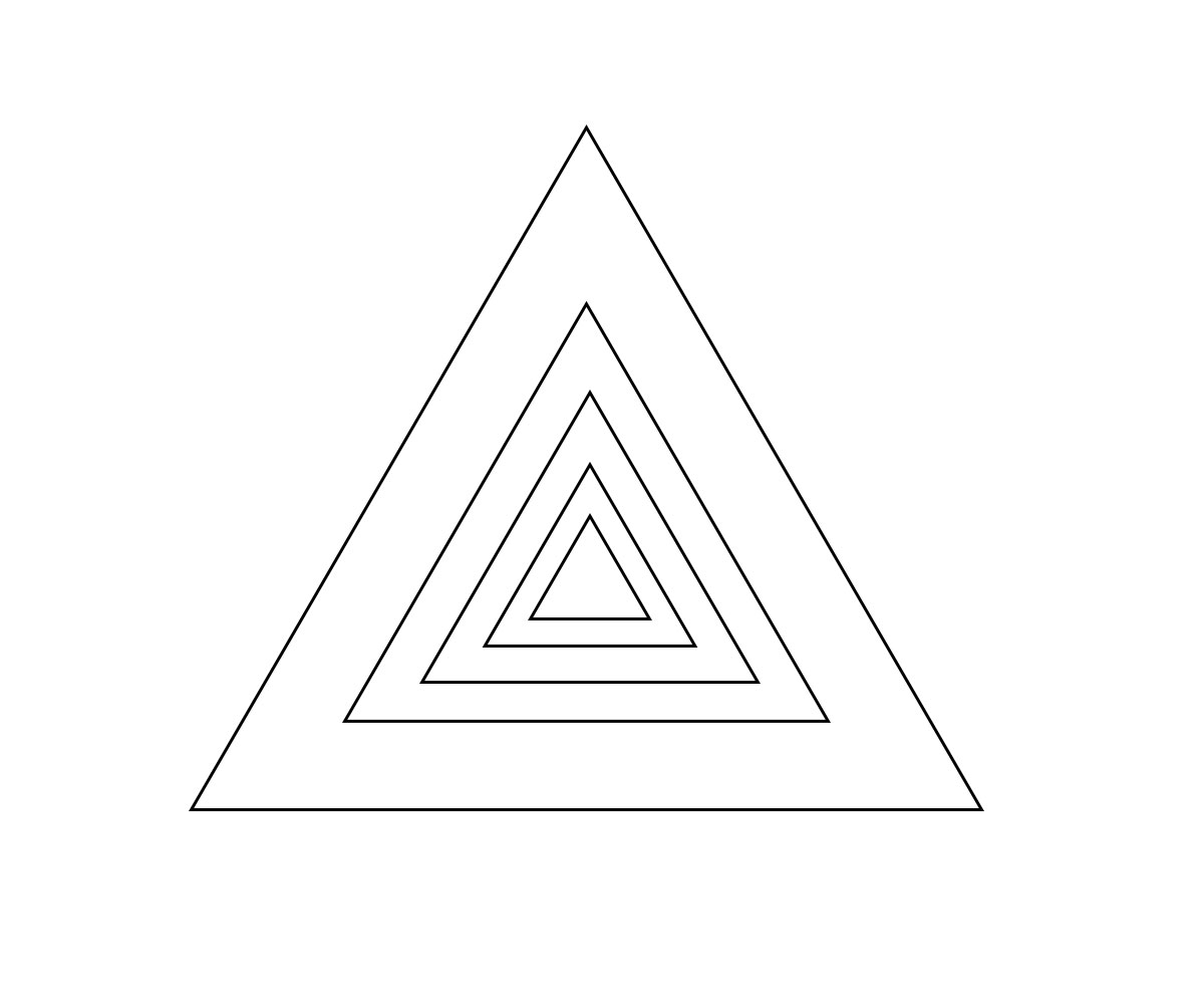 Triangle Coloring Pages Printable