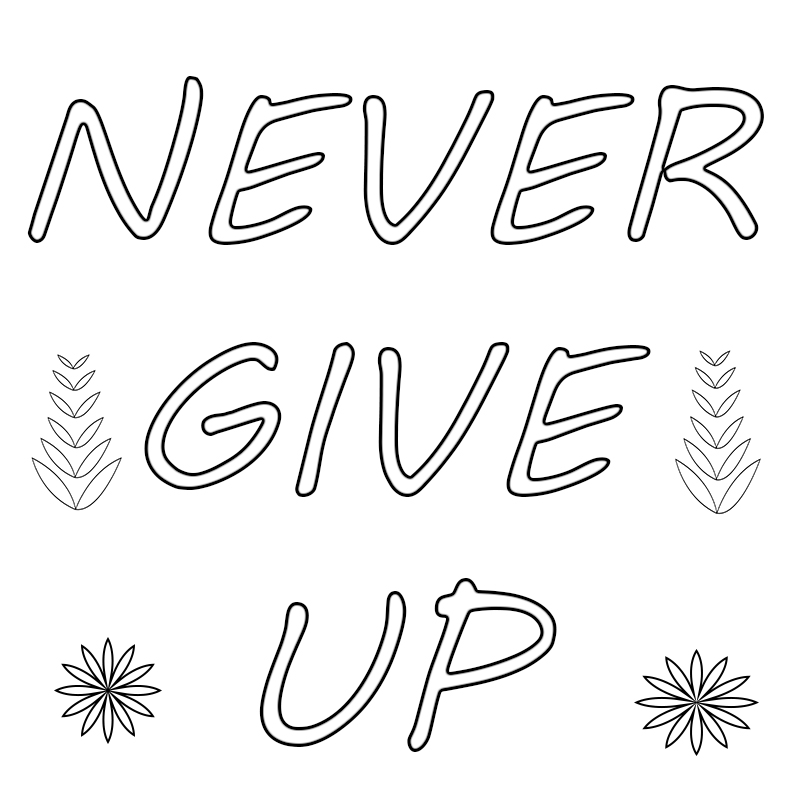Free Printable Motivational Coloring Pages, for Students