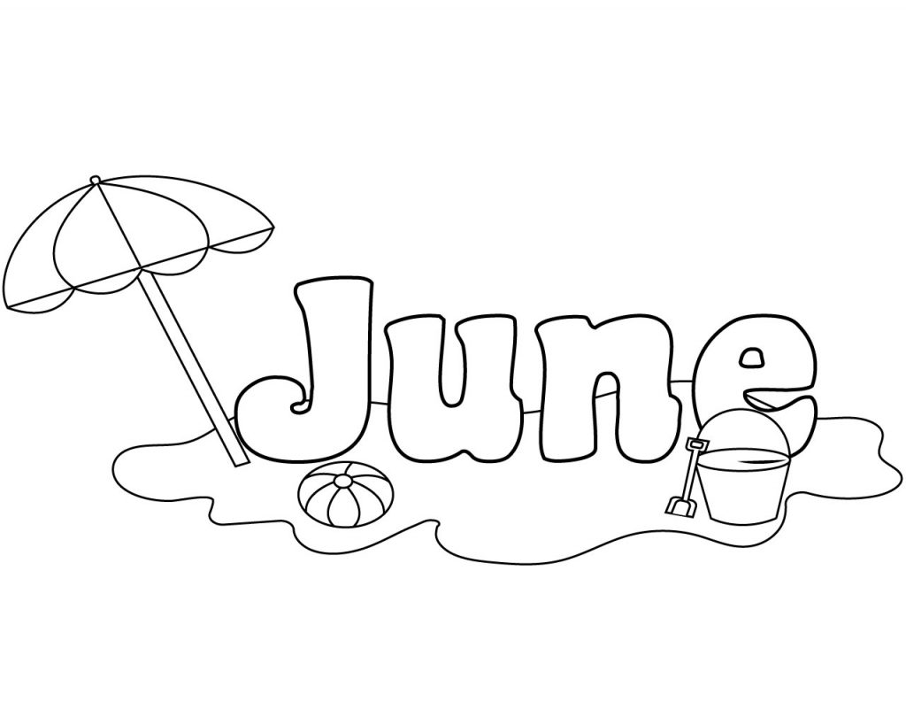 Unique June Coloring Pages You Will Definitely Love June Coloring Pages Free Printable To