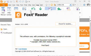 foxit reader serial key free