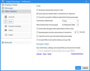 Output Messenger 1.8.6